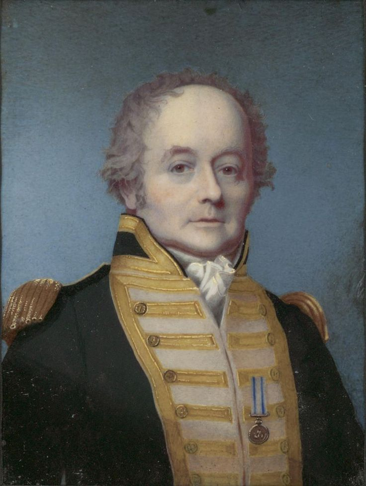 Captain William Bligh. Marooned with 17 men in an open boat in the middle of the Pacific after the mutiny on HMS Bounty, Bligh demonstrated outstanding leadership, seamanship, and navigation by sailing 4000 miles to safety.  Bligh's voyage is one of the great survival efforts in history. He later commanded ships-of-the-line during the Napoleonic Wars, showing both courage and merit.
