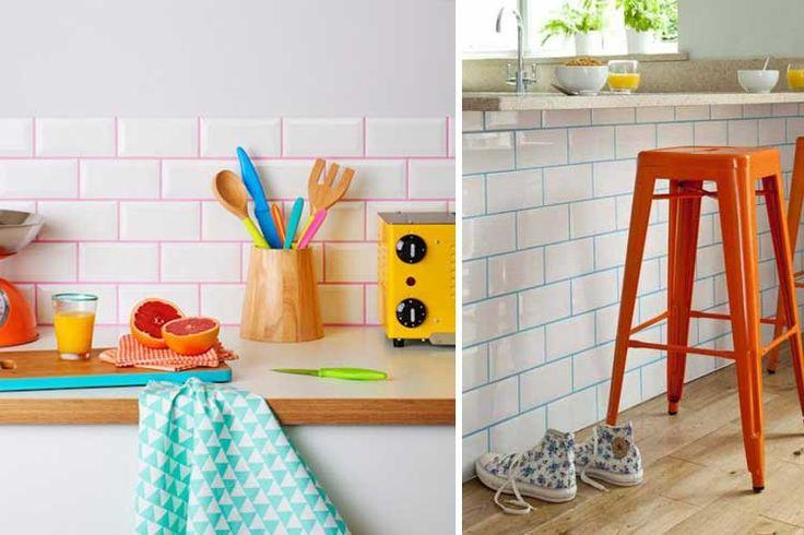 Lechada de colores para azulejos