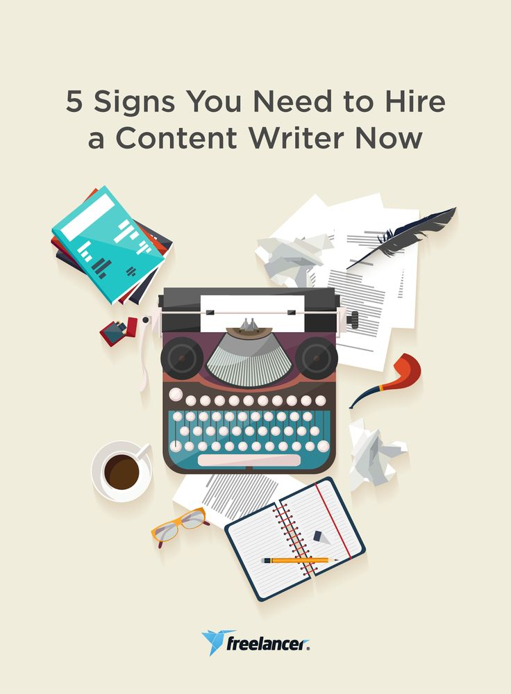 5 Signs You Need to Hire a Content Writer Now  #writing #businesstips #freelancing #startups #onlinejobs #work