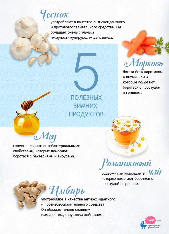 what to eat in winter infographic что полезно зимой инфографика
