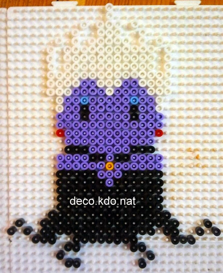 Ursula - The Little Mermaid hama perler beads by Deco.Kdo.Nat