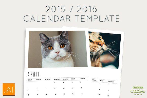 2015/2016 Calendar Templates - Templates