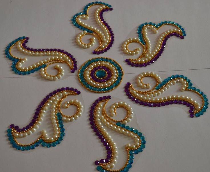 beautiful OHP rangolis by Nikita Creations