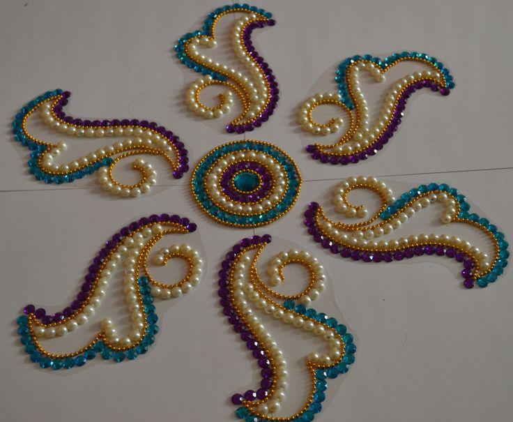beautiful OHP rangolis by Nikita Creations