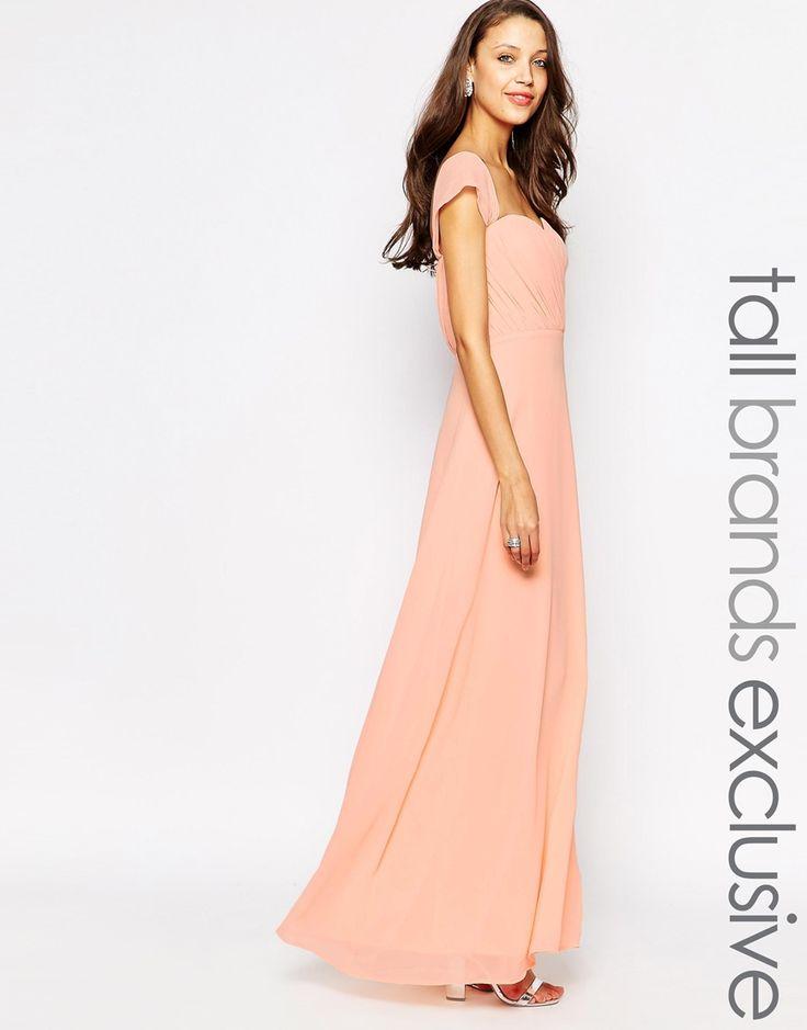 Jarlo tall florance maxi robe bandeau paules for Robes de mariage maxi uk