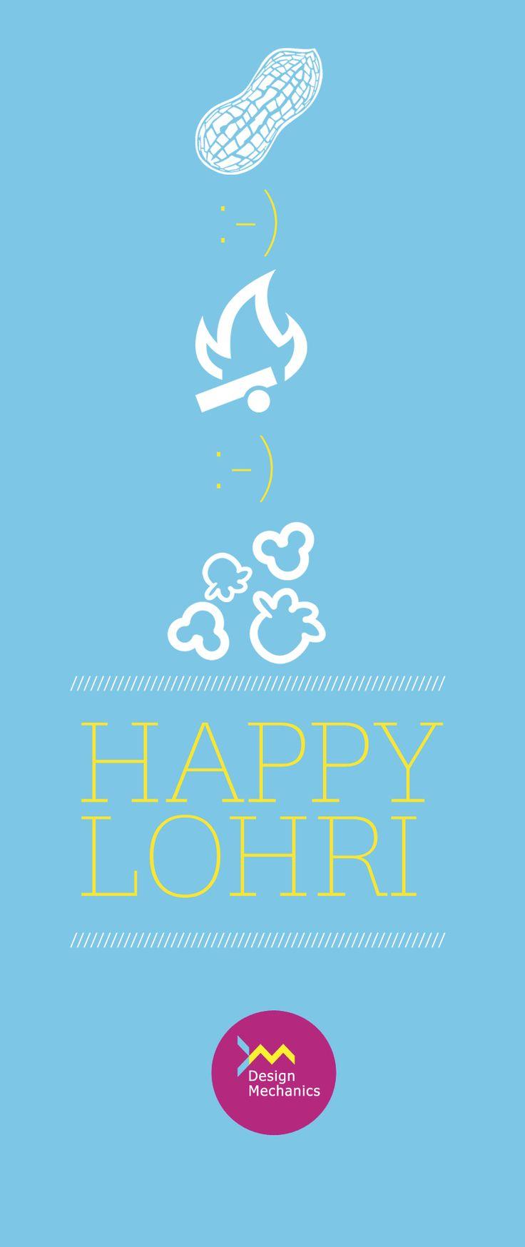 #Design #icons #Happy #Lohri