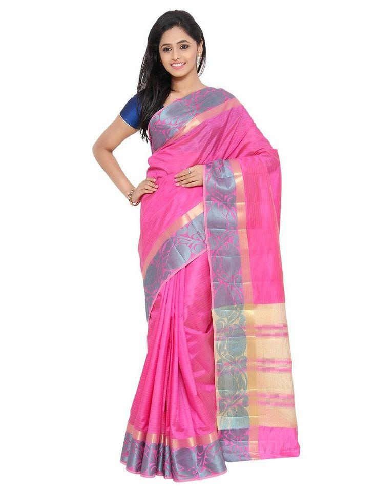 The Chennai Silks - Art Dupion Saree - Pink(CCSW-97): Amazon : Clothing & Accessories  http://www.amazon.in/s/ref=as_li_ss_tl?_encoding=UTF8&camp=3626&creative=24822&fst=as%3Aoff&keywords=The%20Chennai%20Silks&linkCode=ur2&qid=1448871788&rh=n%3A1571271031%2Cn%3A1968256031%2Ck%3AThe%20Chennai%20Silks&rnid=1571272031&tag=onlishopind05-21