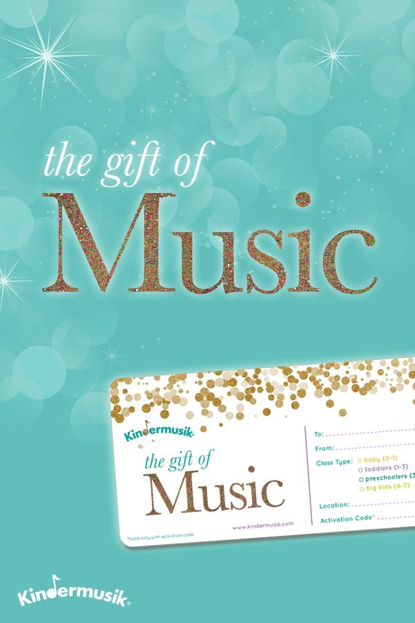 Music classes are the #1 EXPERIENCE gift this season! Find a class near you!