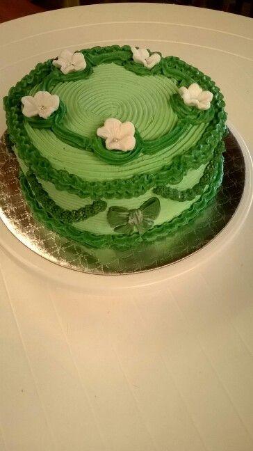 Chocolate and vanilla birthday cake