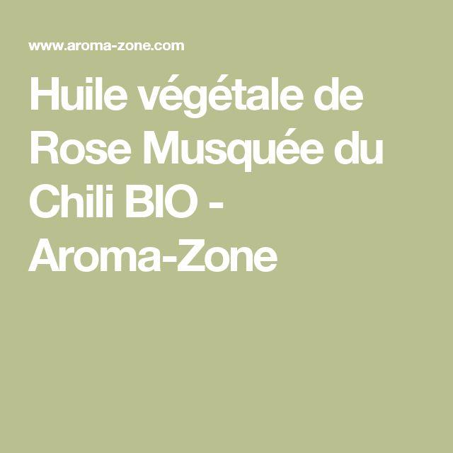 Huile végétale de Rose Musquée du Chili BIO  - Aroma-Zone