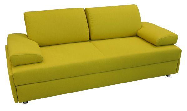 Als Dauerschlafsofa mit Matratze ist Mazzano für zwei Personen jeden Tag ein Bett. Die Liegefläche von 180x200cm ist mit Lattenrost gefertigt.