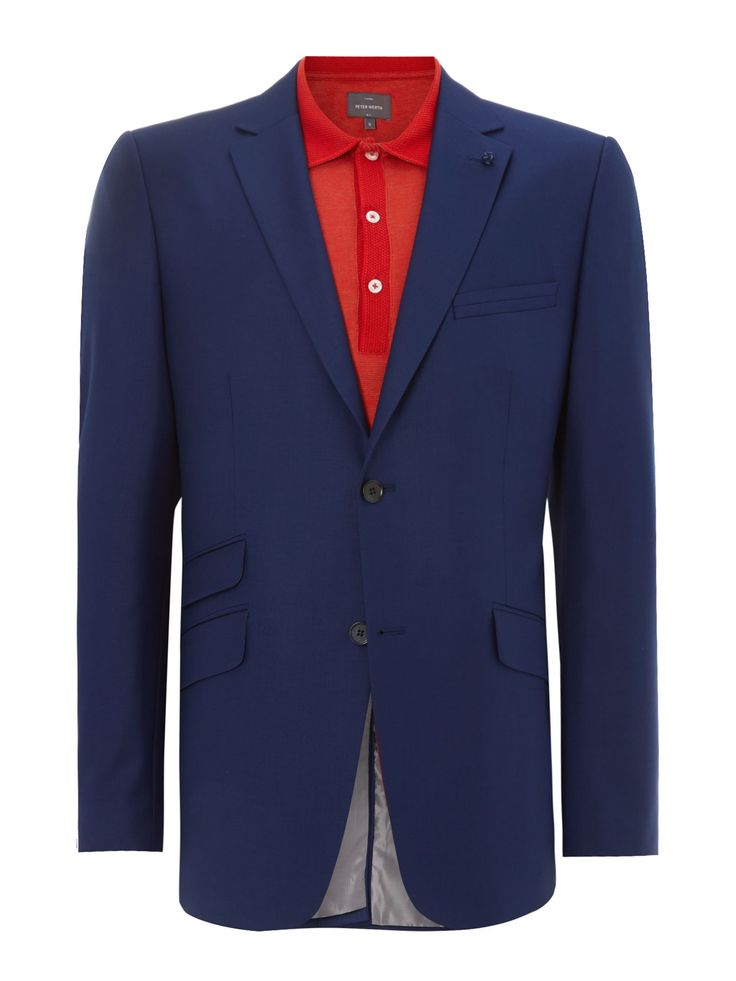Buy: Men's Peter Werth Two button notch lapel suit jacket, Navy for just: £99.00 House of Fraser Currently Offers: Men's Peter Werth Two button notch lapel suit jacket, Navy from Store Category: Men > Suits & Tailoring > Suit Jackets for just: GBP99.00