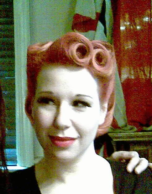 Hair by Natasha Hall of Pretty Me Vintage