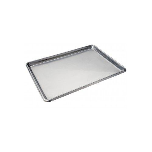 "Focus Foodservice 901826SS Heavy Duty Full Size Sheet Pan, Stainless Steel, 18"" x 26"" x 1"""