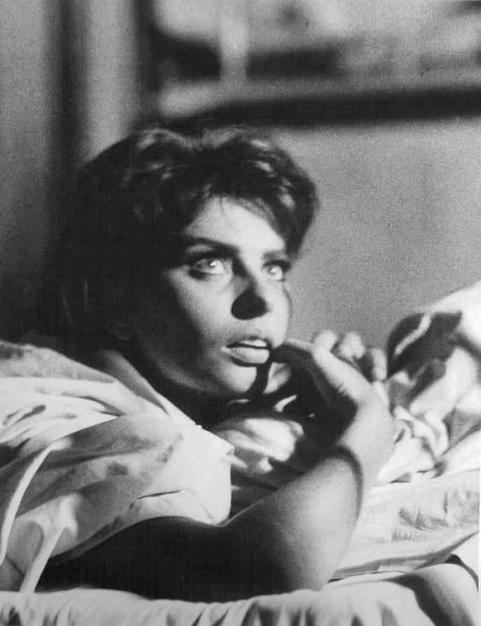 Sophia Loren photographed by Yul Brynner, 1956