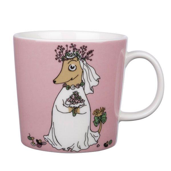 Mumin Mugg Fuzzy - Tove Slotte-Elevant - Arabia - RoyalDesign.se