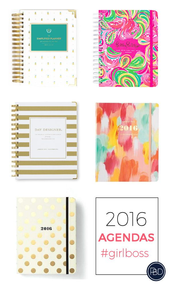 Getting Organized in 2016- My favorite day planners, organization apps, and more to help you accomplish all of your goals in 2016. | Progression By Design