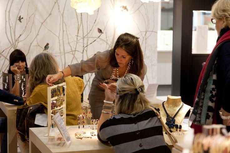 Aibijoux stand @Homi 2015 | www.aibijoux.com #SENCE #designjewelry #SenceCopenhagen #HOMI15 #HomiMilano #AIBIJOUX