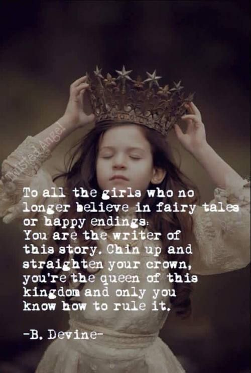 True! Girls are queens. We rule our life