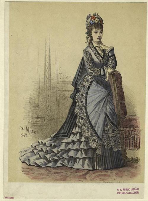 Fashion Plate | c. 1870 | French