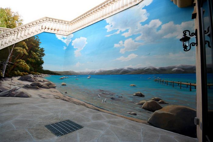 17 creative exterior and interior wall murals plymouth for Exterior wall mural