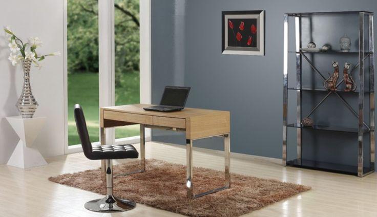 Praktyczne, urzekające prostotą i solidnością wykonania biurko Zefir firmy Meble Biurowe.