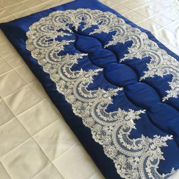 Ottoman Seccade Takımı | Gece Mavisi