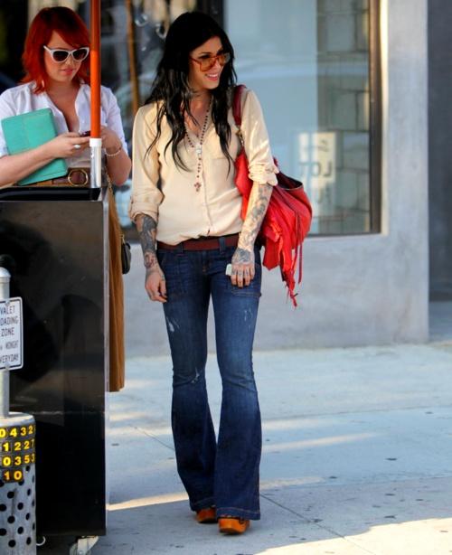 I love Kat Von D's style