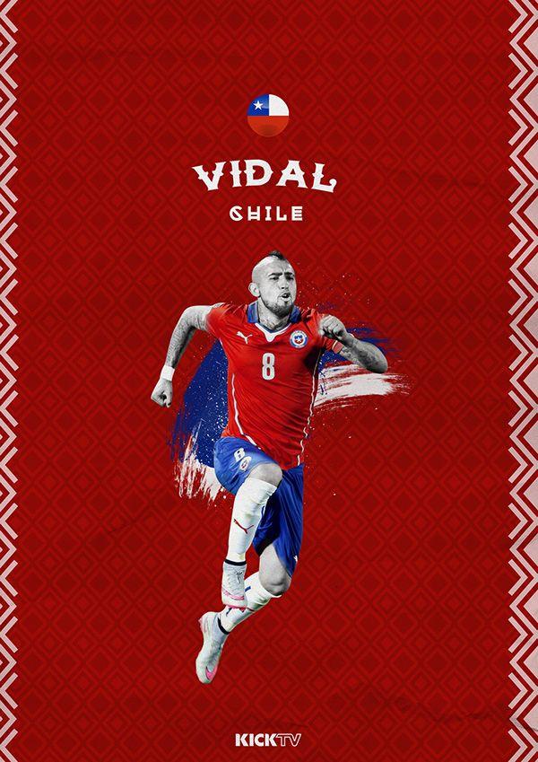 Copa América 2015 / Arturo Vidal / Rey Arturo / Chile