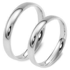 En Ucuz Gümüş Alyans Çifti İnce Klasik Söz Nişan Yüzüğü