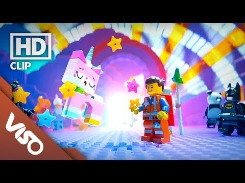 """""""Cloud Cuckoo Land"""" rave sequence keylight and shot lighting - The Lego Movie 2013"""