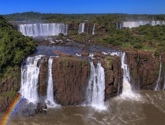 The Steps of Iguazu by Aubrey Stoll