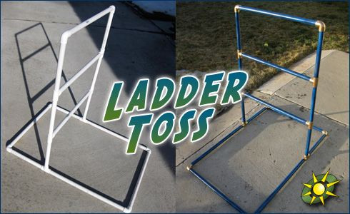 Ladder Toss.... easy to make and fun to play!