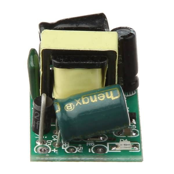 5V 700mA 3.5W AC-DC Step Down Isolated Switching Power Supply Module Note: There are 5V and 3.3V show as the picture, but the same function. Show as 5V, it means output voltage 5V; Show as 3.3V, it also means output voltage 5V, but with regulator chip, it can be output voltage...