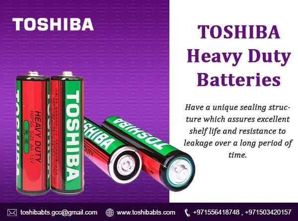 Heavy Duty Zinc Carbon Batteries Toshiba Transistor Radio Heavy Duty