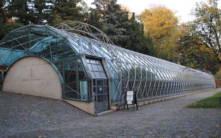 """Eva Jiřičná """"Oranžerie Královské zahrady"""" 1999 Prague"""