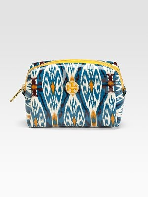 Tory Burch ikat cosmetic bag