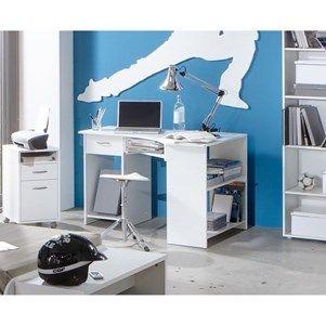FELIX Bureau d'angle 77 cm blanc - Achat / 99E Cdiscount