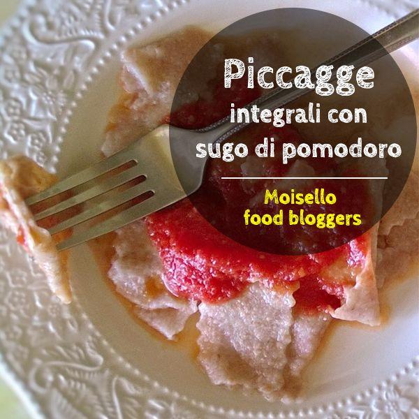 Ecco la nuova ricetta di Raffaella, le Piccagge integrali con sugo di pomodoro, vieni a scoprire la ricetta su http://moisello.com/blog/  #moisellobloggers