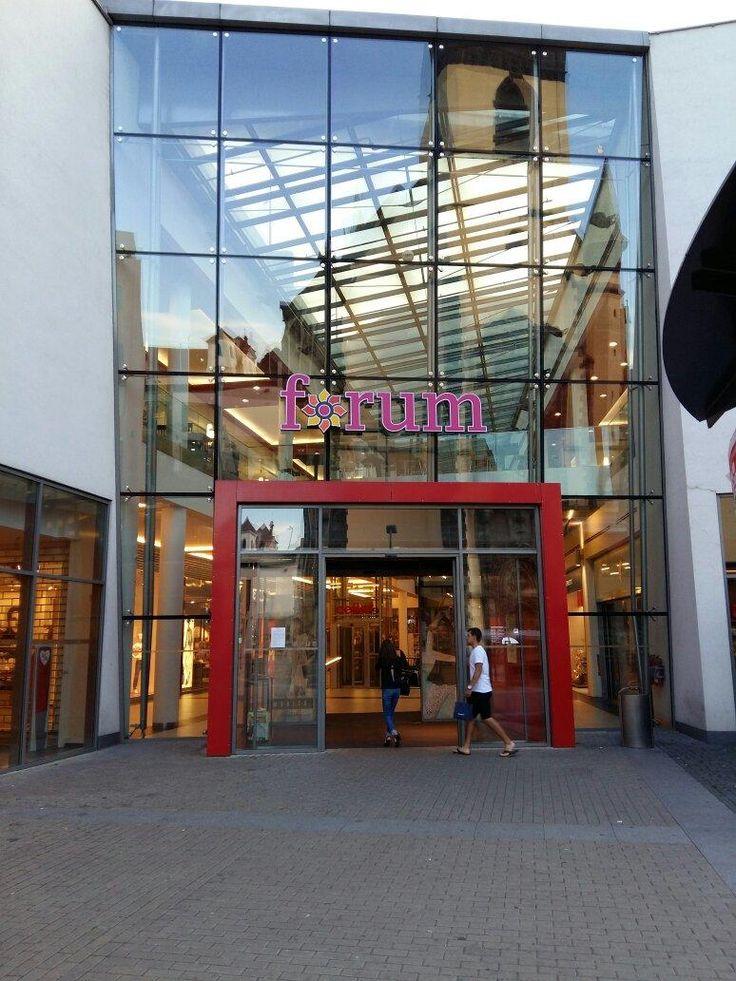Forum Usti nad Labem (mall) - Czech Republic