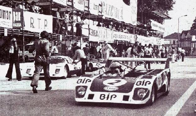 Carlos Gaspar, Lola T292, Team BIP (Banco Intercontinental Português), Vila Real, Campeonato de España de Conductores de Velocidad en Circuito para Vehiculos de Gran Turismo-Sport, Portugal, July 1, 1973 (winner). Tags: banco intercontinental português portuguese bank