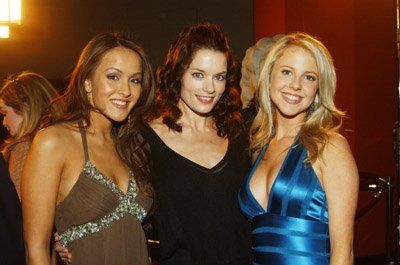 Crystal Lowe, Chelan Simmons and Gina Holden at event of Final Destination 3 (2006)