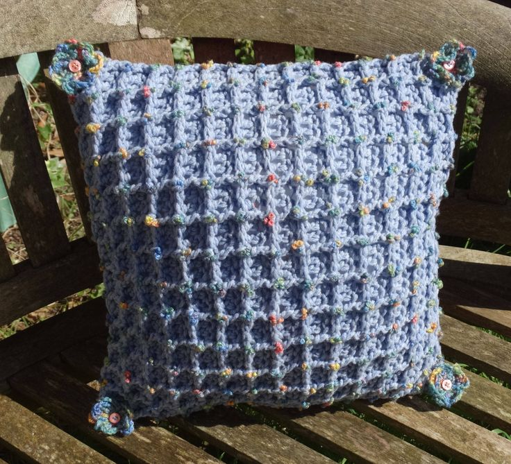 A personal favourite from my Etsy shop https://www.etsy.com/uk/listing/510207964/textured-soft-merino-wool-crocheted-blue