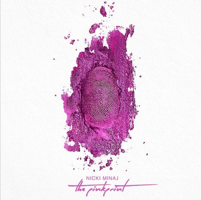 "Nicki Minaj ""The Pinkprint"" album cover, designed by Kanye West"