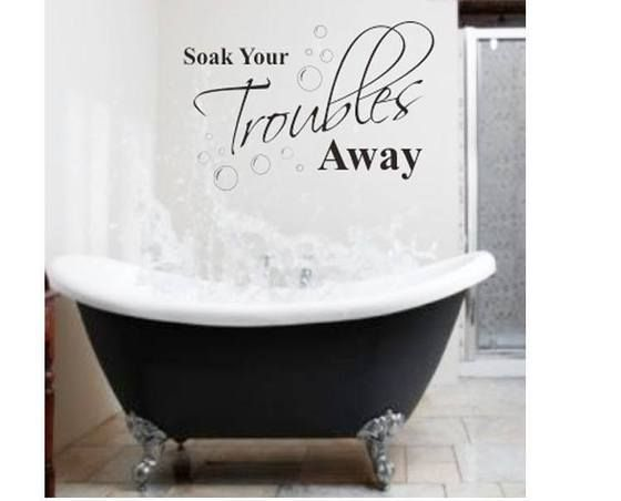 Soak your troubles away www.twolittlegiggles.com.au