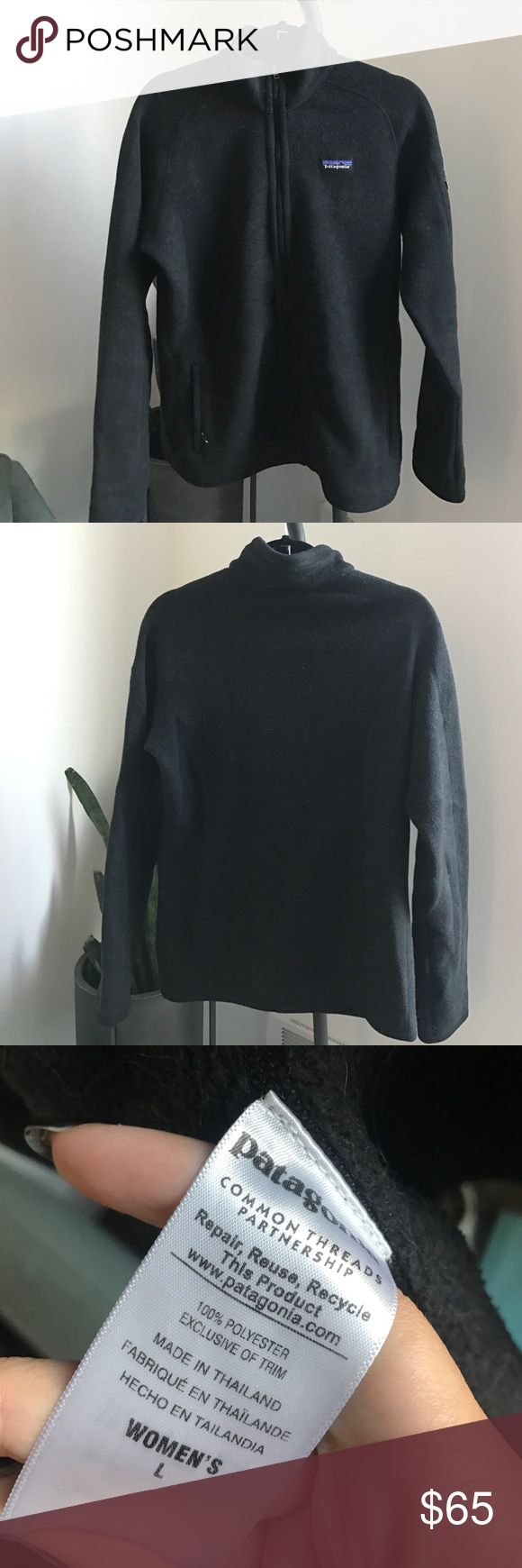 Patagonia fleece jacket Patagonia fleece jacket with inside pockets and zipped side pockets on the front Patagonia Jackets & Coats