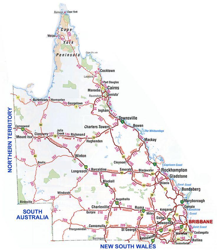 Best Australian Road Trips Images On Pinterest Road Maps - Map of australia roads