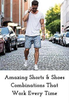 shorts & shoes combinations #mens #fashion