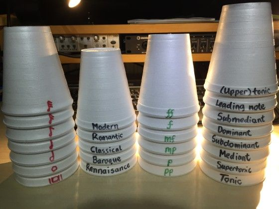 Cup Stacking in Sequence - Fun Group Lesson Activity, Relay Race to Stack them up or Scatter Cups for Minute to Win it in Private Lessons