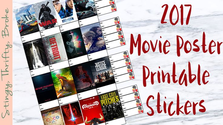 I have an obsession with going to the movies. I don't know what it is about movies that I love so much, but I do. I'm sure you aren't that surprised considering I do movie reviews and post printables solely around movies. Anyways, I created full boxes for some of the new movies coming out … … Continue reading →